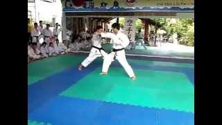 Biễu diễn kỹ thuật Kumite