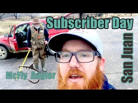 A Fly Fishing SUBSCRIBER Day on the San Juan! - McFly Angler Episode 8_Horgászat videók