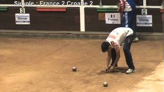 Eybens France  City new picture : Finale simple et fin combiné, championnat du monde 18, Eybens 2012