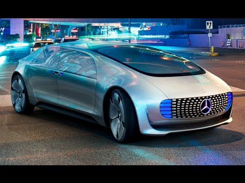 Mercedes F 015 Drives Itself To CES Las Vegas Mercedes Self Driving Car Commercial CARJAM TV 4K 2015