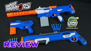 Buzz Bee blasters at Target (link to items will be added when they launch): https://www.target.com/s?searchTerm=Buzz%20Bee%20BlasterVideo review of the Air Warriors Tactical Storm, Monorail Blaster, and Jaguar. These blasters come with the new Long Distance darts by Air Warriors.- - - - - - - - - - - - - - - - - - - - - - - - - - - - - -