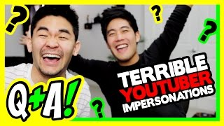 Video Impersonating Youtubers! (Q&A) MP3, 3GP, MP4, WEBM, AVI, FLV Maret 2019
