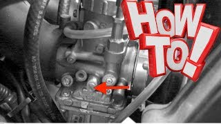 6. How to Adjust Idle Speed Arctic Cat 2-Stroke Snowmobile