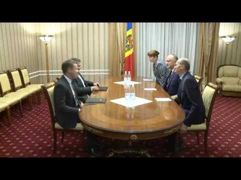Președintele Republicii Moldova a avut o întrevedere cu șeful misiunii și reprezentantul permanent al FMI în țara noastră