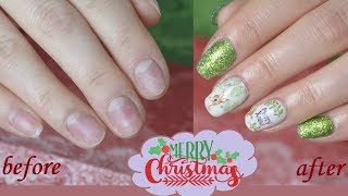 🎄 X-MAS LOOK | Full Nail-Transfomation | Danana - YouTube