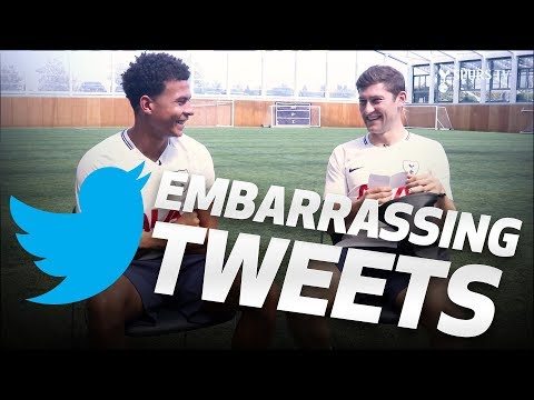 🙈 EMBARRASSING TWEETS | Ft DELE, ERIKSEN, DAVIES & CARTER-VICKERS