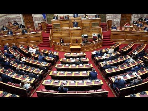 Ελλάδα: Πολιτική αντιπαράθεση στη Βουλή για το νομοσχέδιο για τις συναθροίσεις…