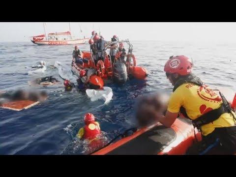 LIBYER WEHREN SICH: Küstenwache will keine Menschen zurückgelassen haben