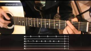 Cómo tocar Hasta Que Te Conocí de Maná en Guitarra (HD) Tutorial Christianvib