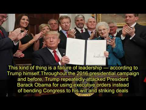 Leadership quotes - Trump's most hypocritical quotes on unilateral executive action