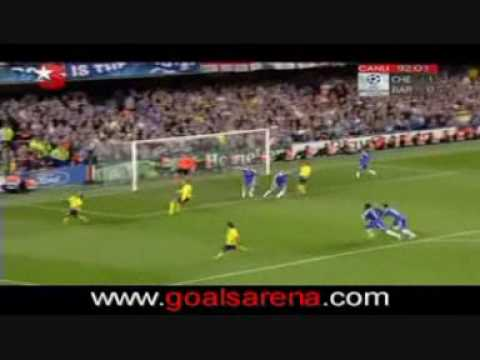 Chelsea 1 - 1 Barcelona Semifinal 2009