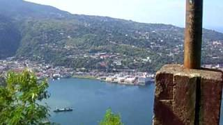 Jayapura Indonesia  City pictures : View from Jayapura City neon Sign, Papua Indonesia