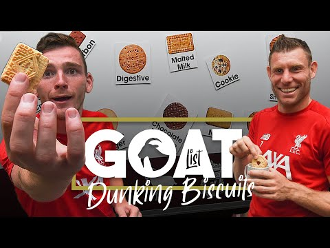 Video: Milner and Robertson decide the GOAT of dunking biscuits | 'Are we being too generous to Hob nobs?'