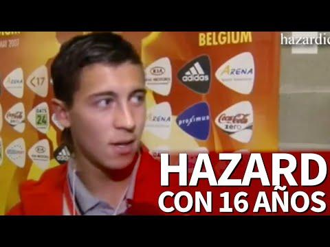 Frases de amor cortas - Hazard con 16 años deja esta frase para poner una y otra vez en las escuelas de fútbol