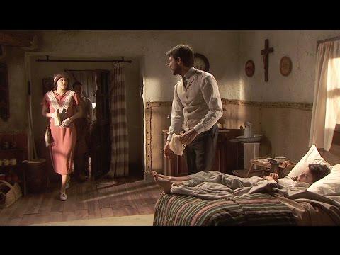 il segreto - sol entra nella casa di un paziente di lucas