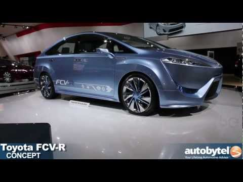 Toyota FCV-R concept at the 2012 Detroit Auto Show video