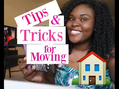 Tips & Tricks for Moving