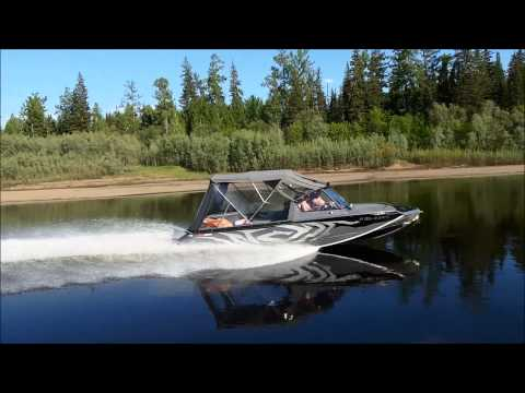 лодки росомаха 4100 видео