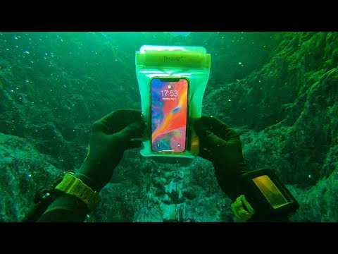 Found a Working iPhone X Underwater in the River! (Returned Lost iPhone to Owner)_Diving. Best of all time