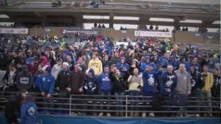 Video of students attending homecoming celebrations