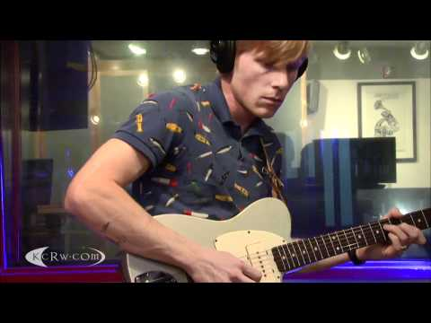 "Tennis performing ""Origins"" on KCRW"