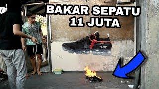 Video PRANK BAKAR SEPATU OFF WHITE SEHARGA 11 JUTA !!! ALINGGA EMOSI PARAH !!! - Prank MP3, 3GP, MP4, WEBM, AVI, FLV Oktober 2018