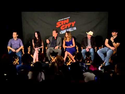 Eva Green Web: Eva Green Sin City 2 Press Conference Part 1