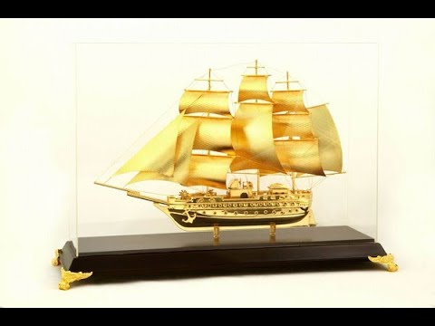 Thuyền buồm quà tặng ý nghĩa dành cho doanh nhân
