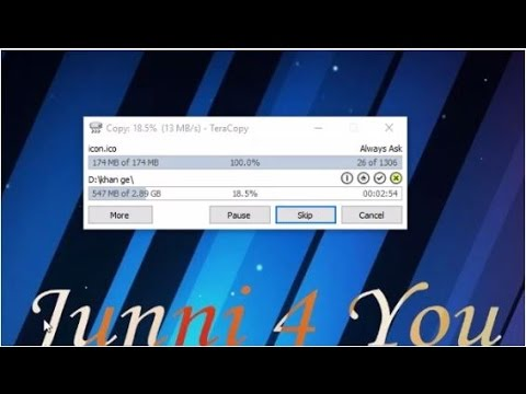 How to Use TeraCopy to Speed Up Copying Your Files Urdu/Hindi