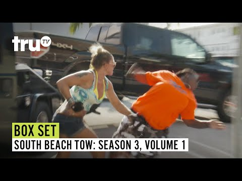 South Beach Tow | Season 3 Box Set: Volume 1 | Watch FULL EPISODES | truTV