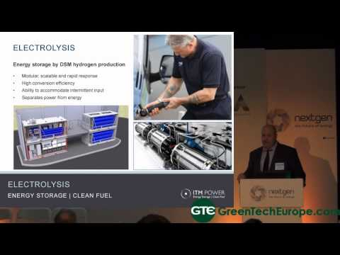 ITM Power Presentation: Hydrogen technology overview