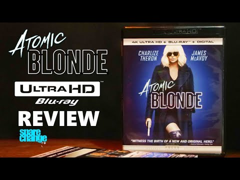 Atomic Blonde 4K Bluray Review | Unboxing | DTS-X