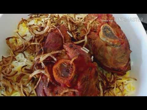 Machboos laham with recipe #thetraditionalArabicfood