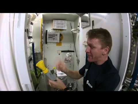 British Astronaut Tim Peak Explains How Astronauts Pee and Poop on the International Space