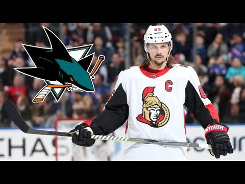 ERIK KARLSSON TRADED TO THE SHARKS!!!!!