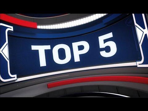 Top 5 NBA Plays of the Night: April 18, 2017 (видео)