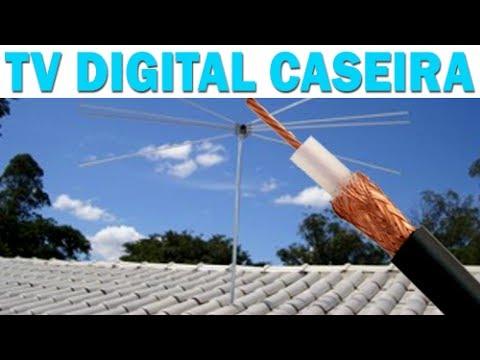 FUNCIONA - Antena para TV Digital HDTV Caseira [Testado e Aprovado]