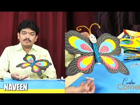 Creative Corner || How to Make a Butterfly Using Ice cream Stick Spoons