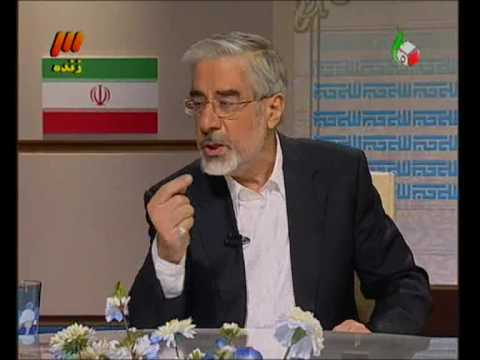 Mousavi Karoubi Monazereh - TV Debate (видео)