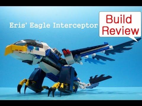Vidéo LEGO Chima 70003 : L'intercepteur Aigle d'Eris