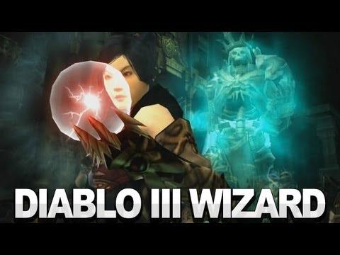 "Image of Diablo 3 - ""The Wizard"" Introduction Video [Diablo III]"