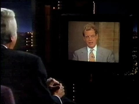 David Letterman on Late Late Show, May 24, 1995