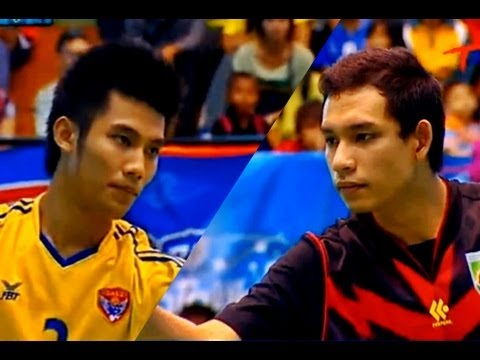 Sisaket - Nakhon Pathom Takraw Thailand League 2012 (1st)