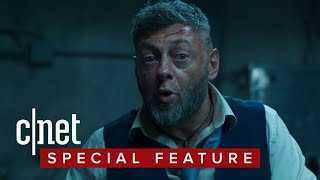 Andy Serkis takes off the suit for 'Black Panther'
