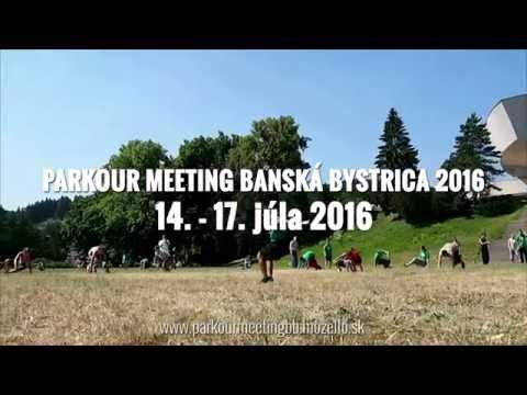 VIDEO: Najväčšie medzinárodné stretnutie parkouristov opäť v Bystrici