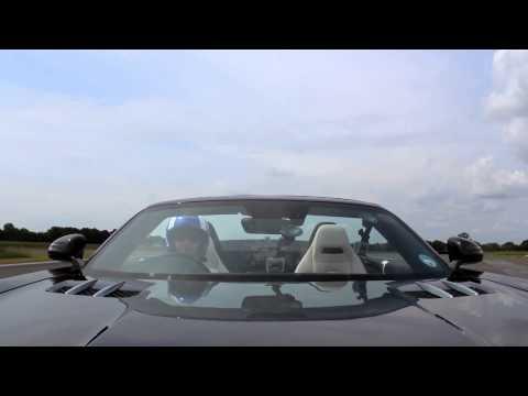 Benz SLS AMG與高爾夫球,誰快!?