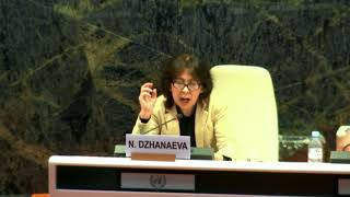 Nurgul Dzhanaeva's Intervention at the RFSD, 2017: http://webtv.un.org
