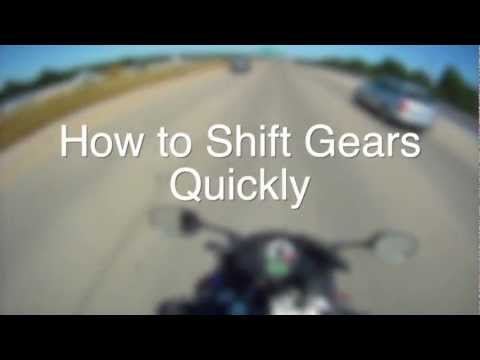 How to Shift Gears QUICKLY on a Motorcycle Like a Pro!