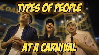 Video Types Of People At A Carnival MP3, 3GP, MP4, WEBM, AVI, FLV Maret 2019