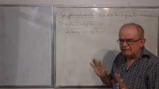 Algebra Intermedia - Lección 42 - A (resolviendo Ecuaciones Irracionales O Radicales)